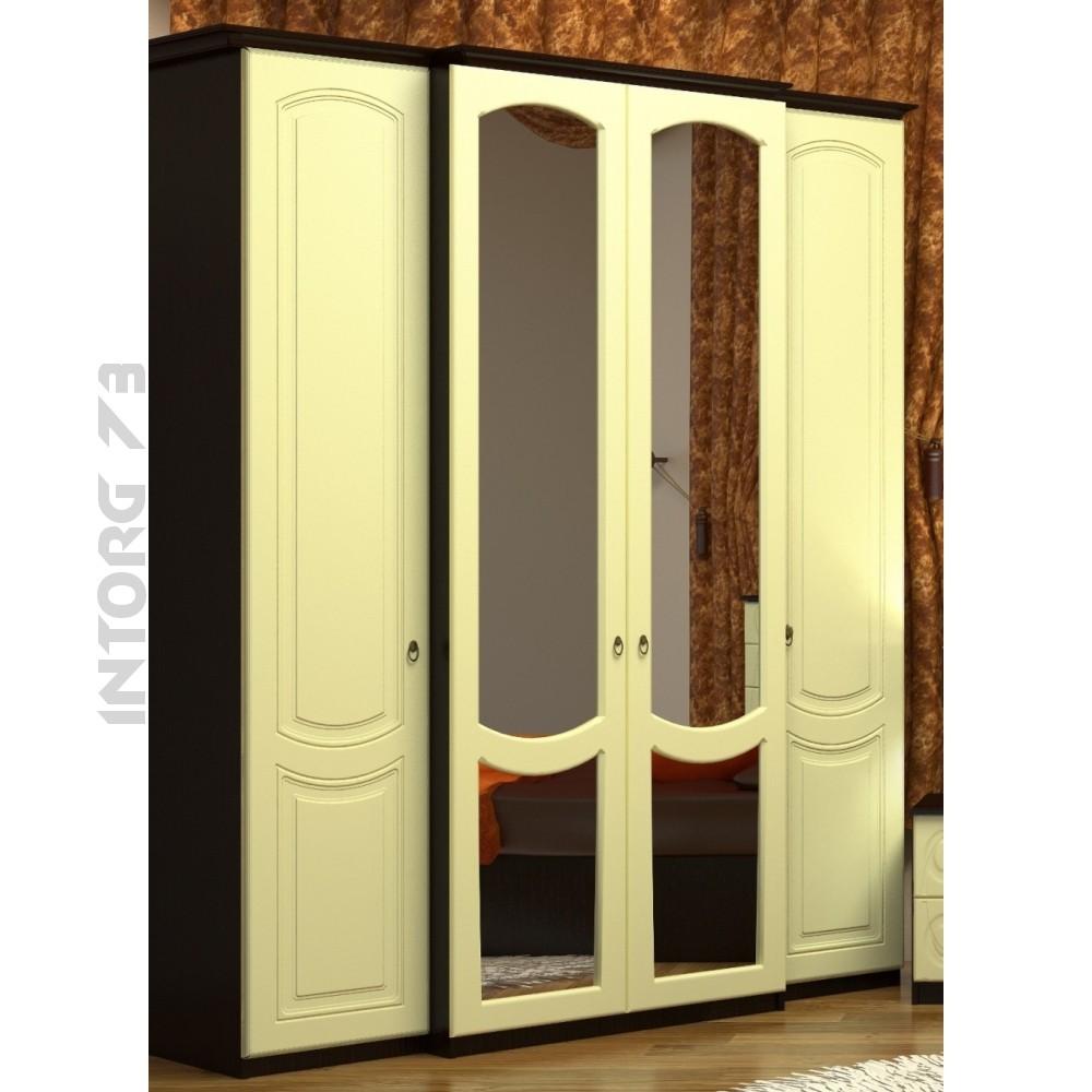 Шкаф 4-х створчатый виво-6 в ульяновске.