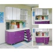 Кухня с гнутыми фасадами, МДФ