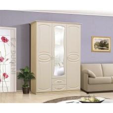 Шкаф 3-х створчатый МДФ с зеркалом Мечта