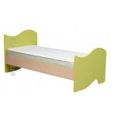 Кровать 900х1900 (200) мм. Юниор-11. ЦВЕТ НА ВЫБОР