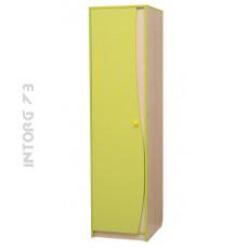 Шкаф 1-дверный для одежды со штангой Юниор-11 мм. ЦВЕТ НА ВЫБОР