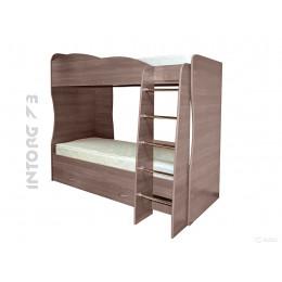 Кровать двухъярусная ЮНИОР-2, сп. место 800х2000, цвет на выбор