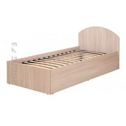 Кровать Милана-2 с основанием на металлокаркасе 80/90х200 см., ЦВЕТ НА ВЫБОР