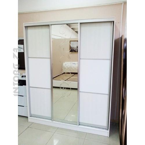 Шкафы купе белый глянец фото с зеркалом - фото каталог.