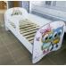 АКЦИЯ Кровать детская с фотопечатью с МАТРАЦЕМ 1900х800 мм.